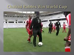 Chabad Rabbis Win World Cup