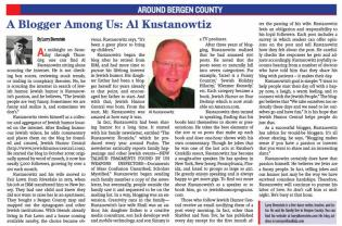 Article in The Jewish Link - 062714